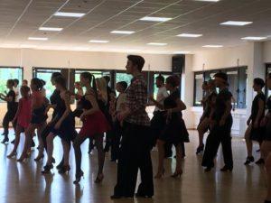 Latein Choreografie und Vorturnier